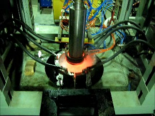 Induction Hardening of roll