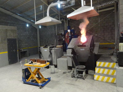 steel induction furnaces
